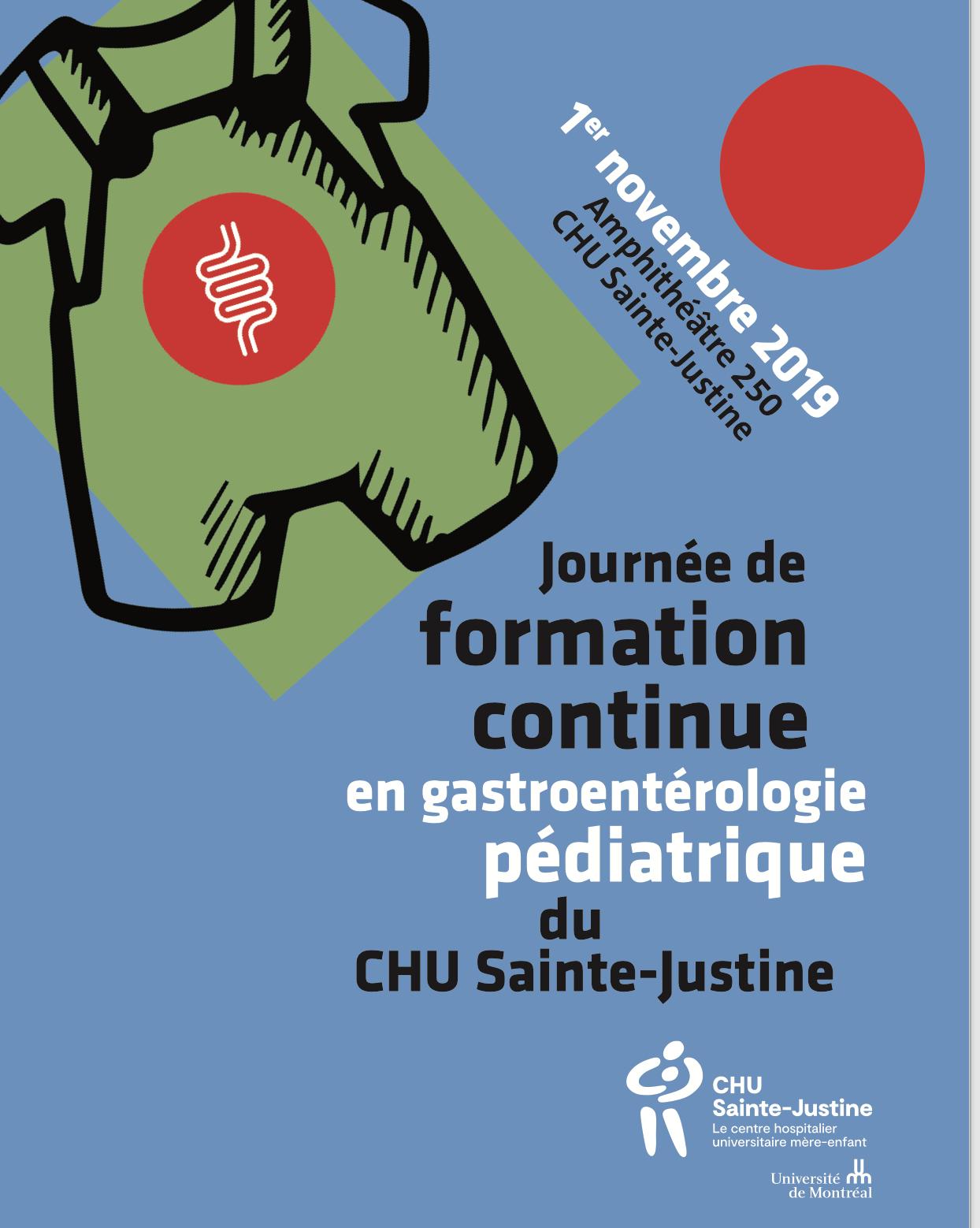 FMC gastro CHU Sainte-Justine 2019